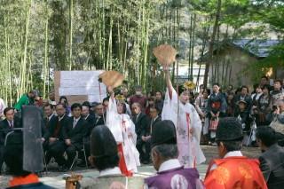 初生衣神社のおんぞ祭り
