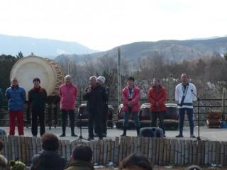 静岡県太鼓連盟 役員の皆様 挨拶。