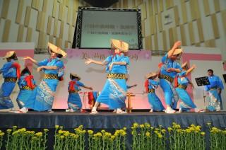 戸田漁師踊り・漁師祭りのステージ