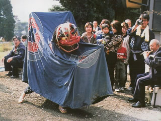 県無形文化財の「沼田の湯立神楽」
