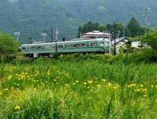 旧電車縮小
