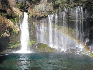 名瀑「白糸の滝」