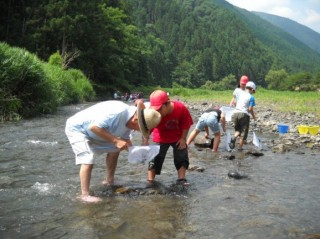 「瀬平けっこにせっ会」支援事業の環境学習