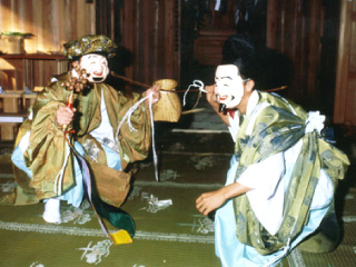 笹間神楽(島田市無形民俗文化財)