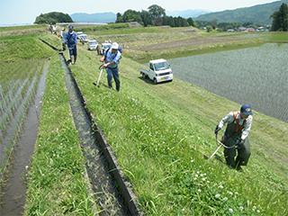 多面的機能支払組織による農地保全活動