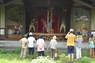 渋川親水公園のからくり人形