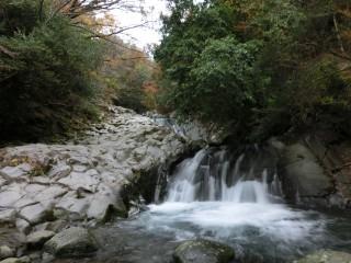 上佐ヶ野の三段滝