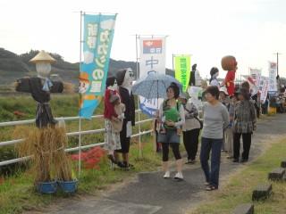 新野のカカシ祭り