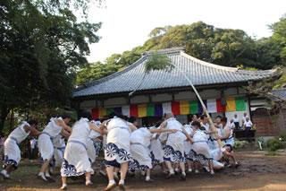 歴史ある報本寺山隋権現例祭