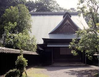 時代劇の撮影にも使われる江川邸