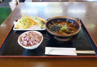 「富士山白糸庵」 季節の天ぷらが人気のそば定食
