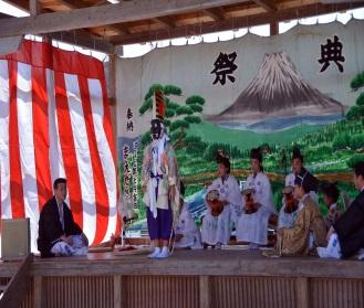 村祭り三番叟(さんばそう)