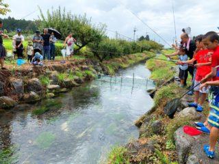 鱒釣り交歓会