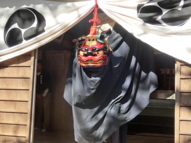 駒形神社の神楽