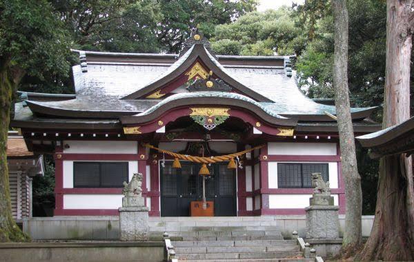 奈良本水神社