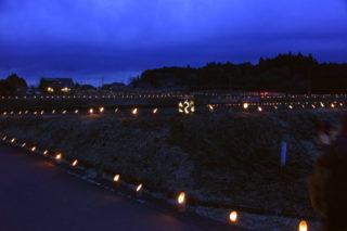平成棚田祭り~3,776本の竹灯籠で飾ろう~