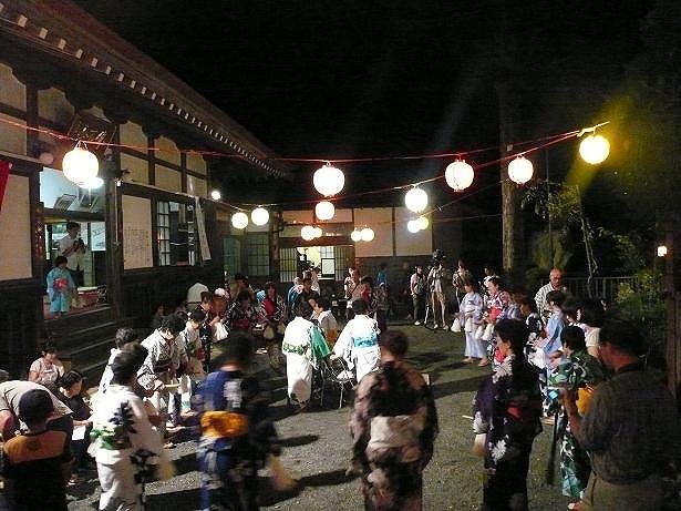 有東木の盆踊り