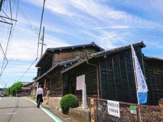 日坂宿の街並み