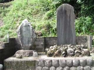 村松嘉蔵翁の彰徳碑