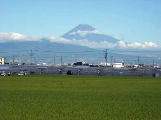 富士山の景観
