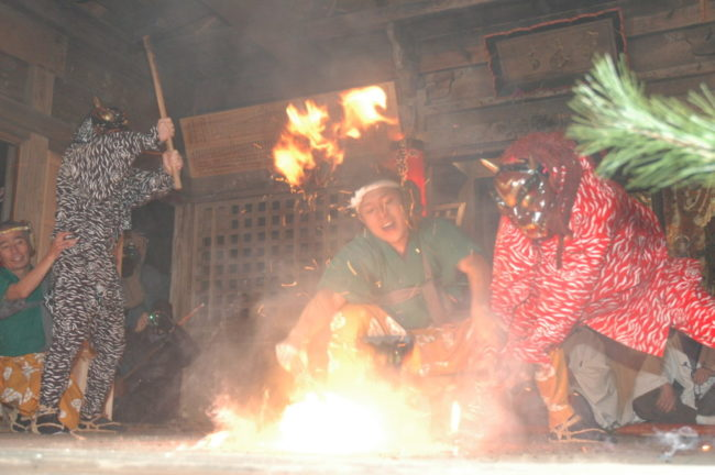 寺野ひよんどり(国指定重要無形民俗文化財)