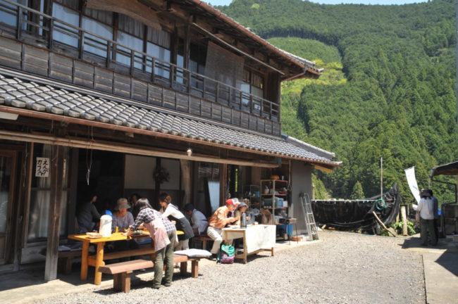 大沢の縁側カフェ