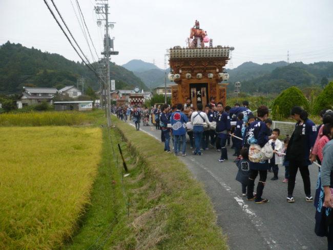 倉真の秋祭り