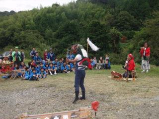 大賀茂山神社 神楽の舞