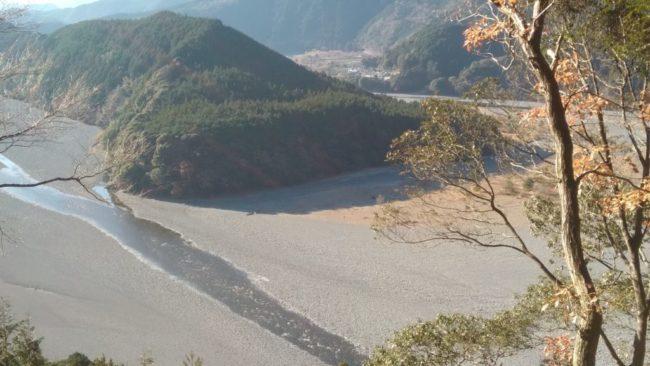 大井川「鵜山の七曲り」