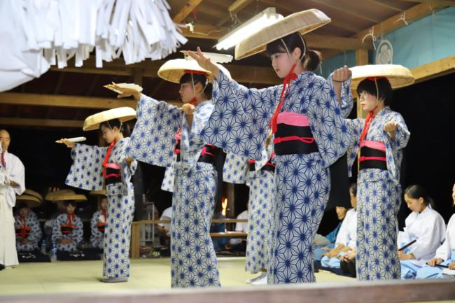 徳山の盆踊り