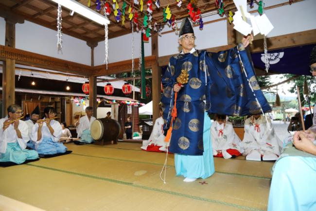 徳山神社祭典