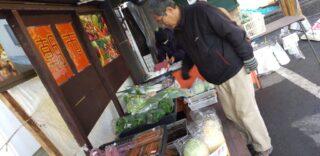 「野菜クラブ」による直売