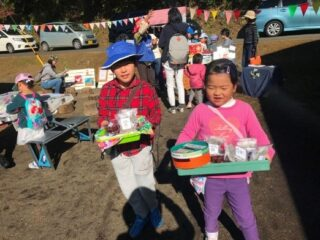 収穫祭(山田川自然の里)