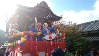 宇久須神社(祭典)
